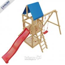 Детская деревянная игровая площадка Самсон 7-й Элемент