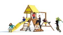 Детская деревянная площадка MoyDvor Пират