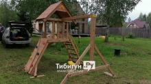 Детская деревянная площадка MoyDvor Крепость свободы