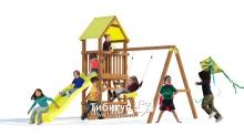 Детская деревянная площадка MoyDvor Замок