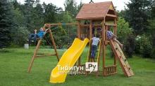 Детская деревянная площадка MoyDvor Париж