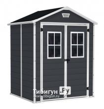 Сарай Манор 6x5DD (Manor 6x5DD), серый