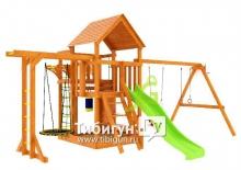 Детская игровая площадка IgraGrad Крафт Pro 4 скат 2 м