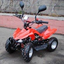 Детский бензиновый квадроцикл LMATV 049M 50сс - Тип двигателя: 2х тактныйОбъем:49 Куб. см.Макс. скорость 45 км/ч