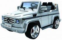 Электромобиль Mercedes Benz G55 AMG Гелендваген - Для детей от 2 до 6 летАккумуляторная батарея: 12VПульт управления