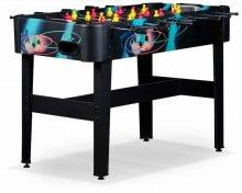 Игровой стол футбол Porto - Вес 19 кгРазмер стола 121 x 61 x 83 смВ комплект входят мячи