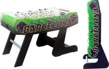 Настольный футбол кикер Barcelona - Складная конструкция Размеры ДхШхВ 138x72x86 см Вес 39 кг