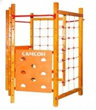 Игровая площадка Самсон Фиджи (сосна) - Возраст от 4летРазмер 1,2м х 2,2м x 2,4м.Производитель Россия