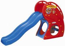 Горка 'Дельфин' Haenim Toy HNP-716 - Рекомендуемый возраст от 1 до 4 летРазмеры (д/ш/в): 175x86x132смПроизводитель HAENIM TOY (Ю.Корея)
