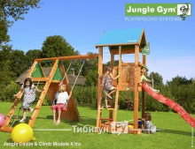 Детский городок Jungle Castle Climb Module Xtra