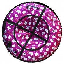Тюбинг Hubster Люкс Мишки фиолетовый 90