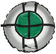 Тюбинг Hubster Ринг Pro серый-зеленый 90 см