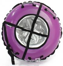 Тюбинг Hubster Ринг фиолетовый-серый 90 см