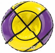 Тюбинг Hubster Sport Plus фиолетовый/желтый 90 см