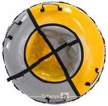 Тюбинг Hubster Sport желтый/серый 90 см