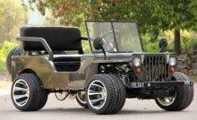 Детский бензиновый Jeep-Mini Sherhan