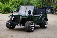 Электрический джип Jeep Sherhan