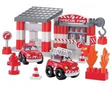 Конструктор Пожарная станция 3080