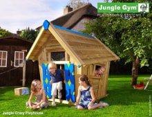 Деревянный игровой домик Jungle Gym Playhouse
