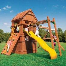 Детский игровой деревянный комплекс Тауэр Максимум