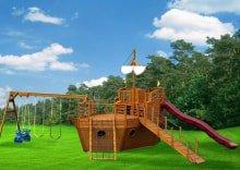 Детский комплекс Корабль Колумб