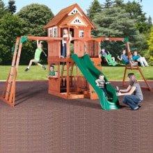 Игровой деревянный комплекс Путешественник