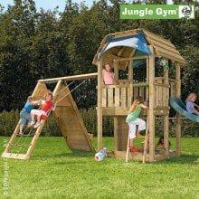 Игровой комплекс Jungle Gym Barn и Climb Module Xtra