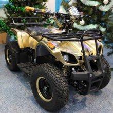 Электроквадроцикл MyToy 500b gold