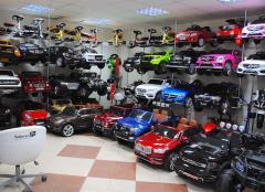 Шоурум детских электромобилей